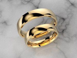 Obrączka ze złota